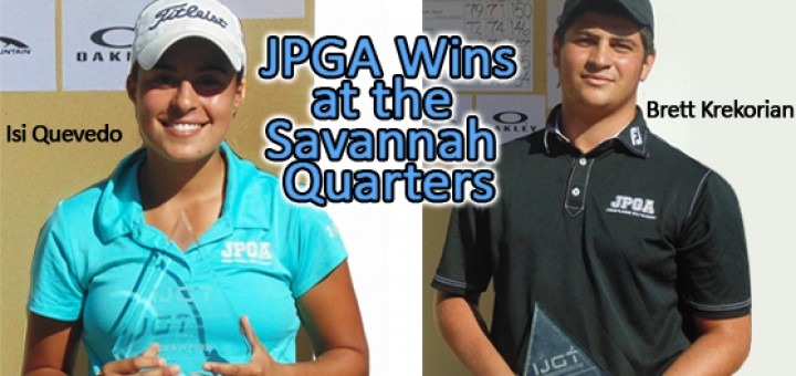 JPGA Wins at Savannah Quarters