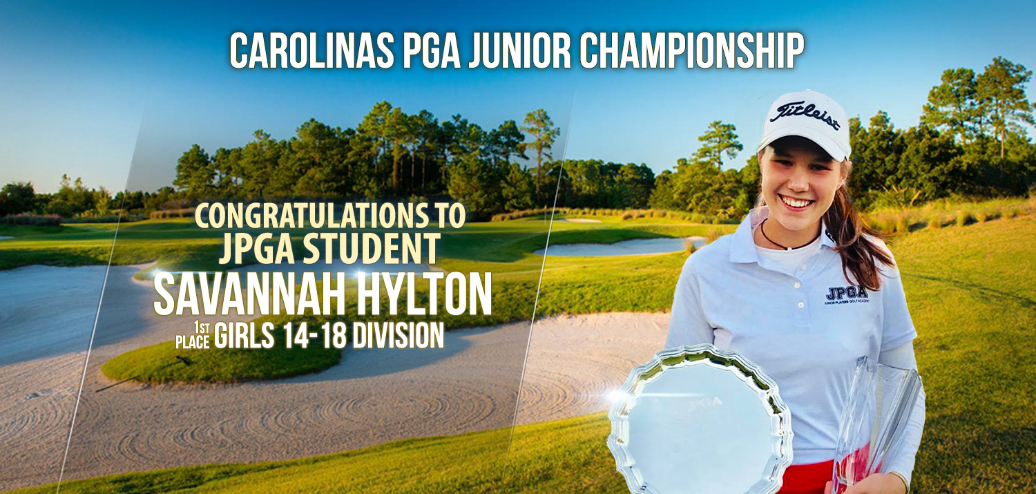 Carolinas PGA Junior Champion