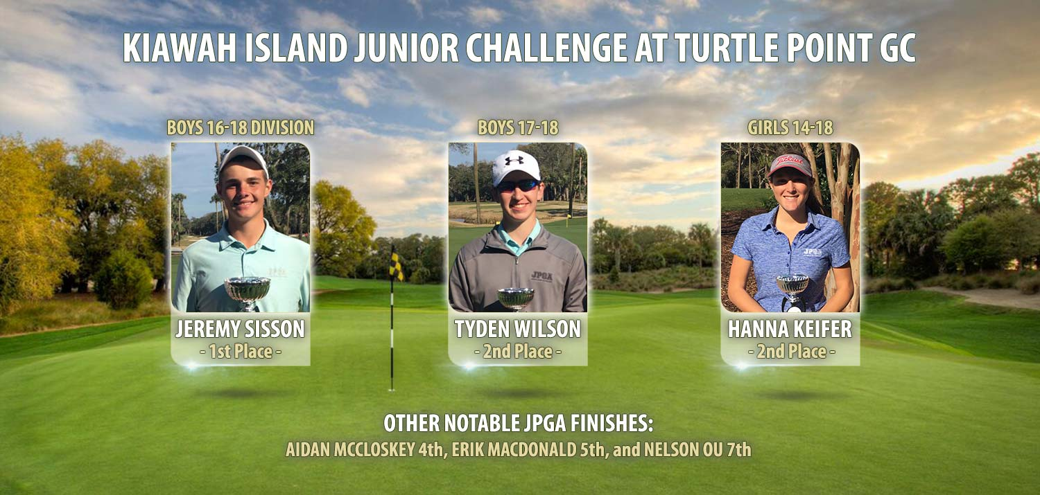 Kiawah Island Junior Challenge at Turtle Point GC
