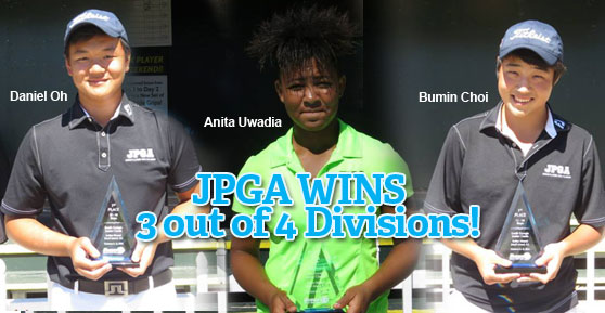 JPGA Wins 3 out of 4 Divisions