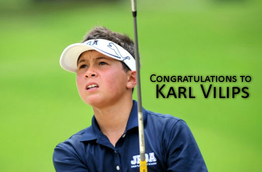 Congratulations to Karl Vilips